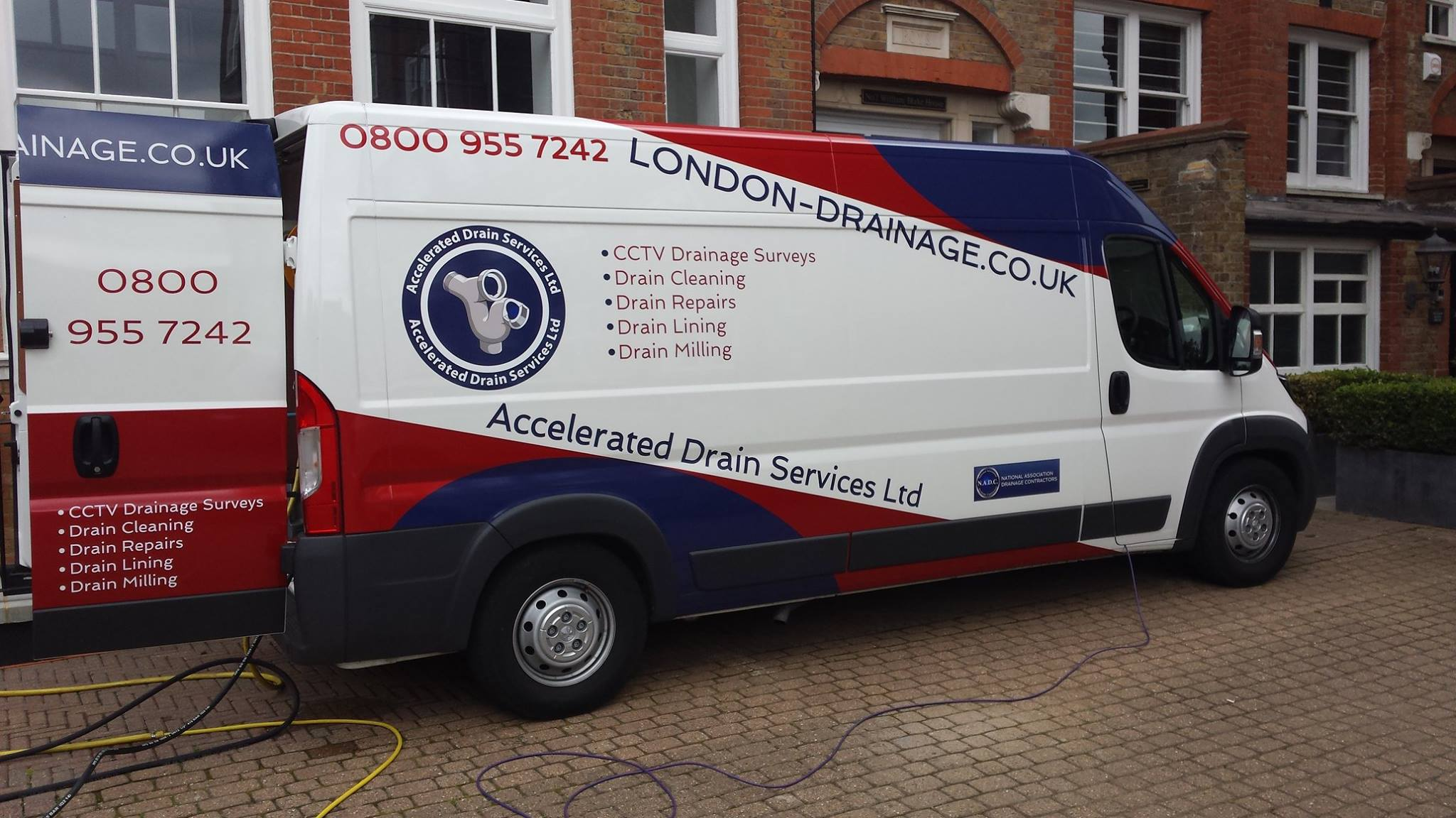 Drainage Van Branding