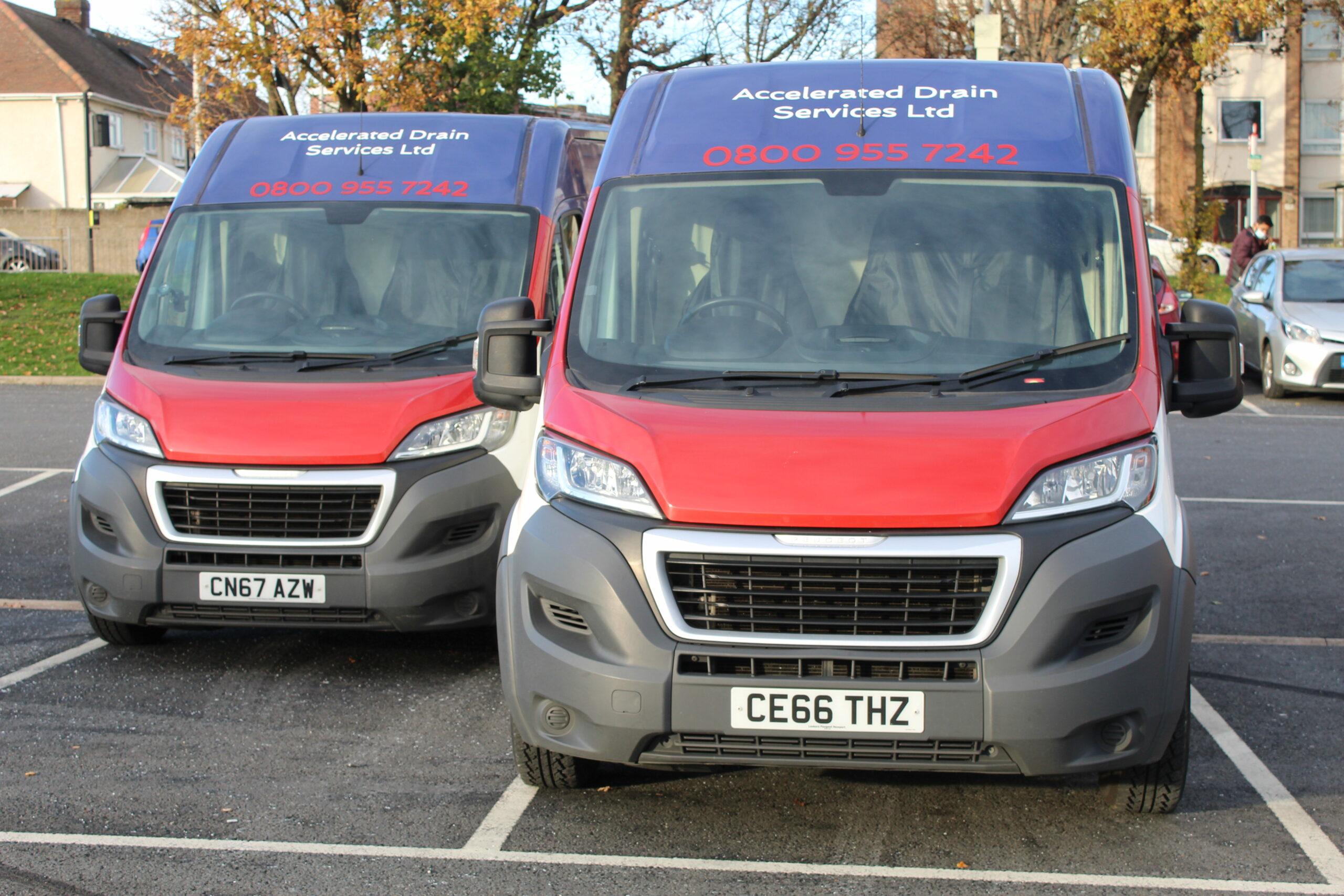 Accelerated Drain Services Ltd Vans